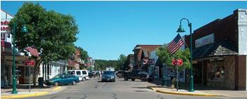 Main Street, Spooner, WI
